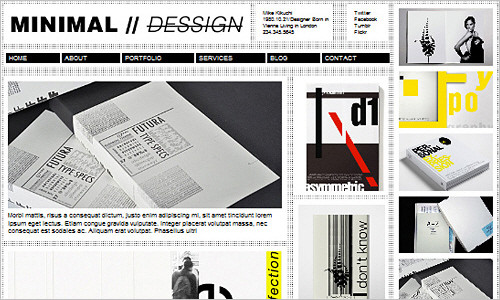 Free Minimal, Swiss Design WordPress Themes (4 Themes)