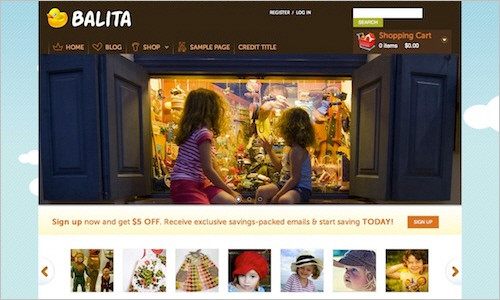 Free E-Commerce WordPress Theme: Balita — Smashing Magazine