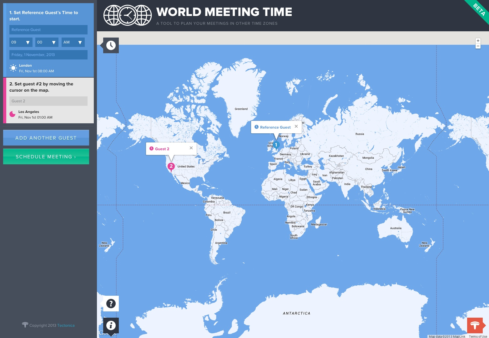 World Meeting Time