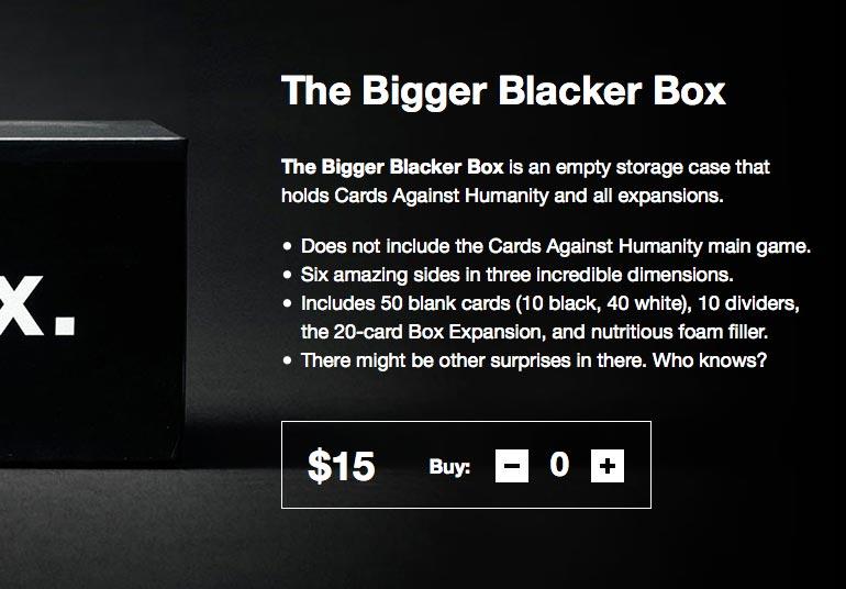 the bigger blacker box