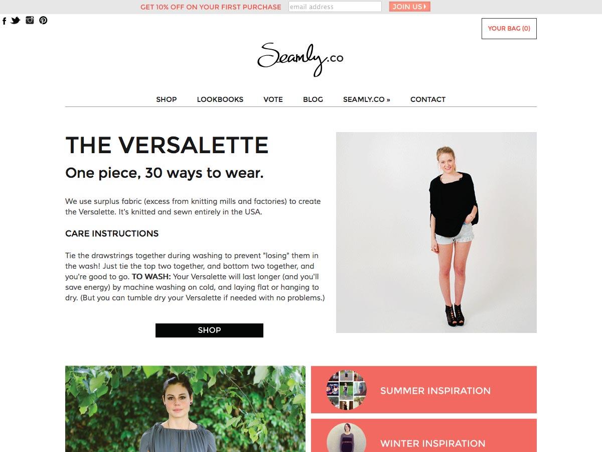 the versalette