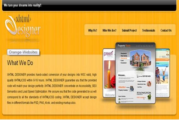 30 XHTML Web Design