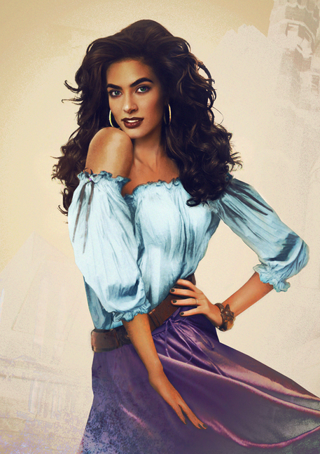 Esmeralda from the Hunschback on Notre Dame