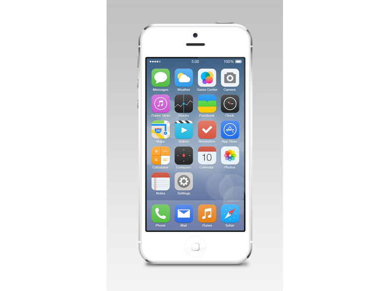 iOS7-Reimagined-Pixels